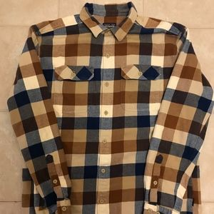 Patagonia Men's Long-Sleeved Fjord Flannel